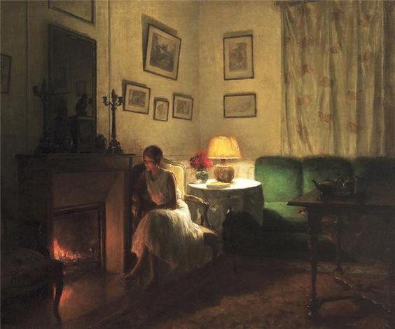 Интерьеры в живописи Марселя Ридера