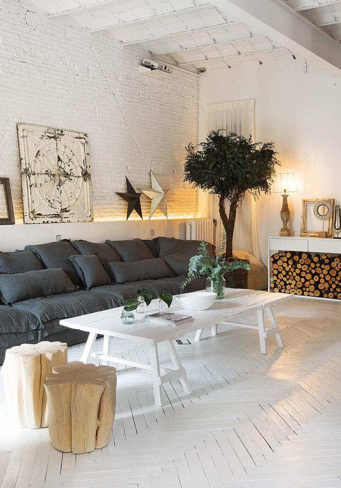 Квартира в стиле индастриал с потрясающей кухней